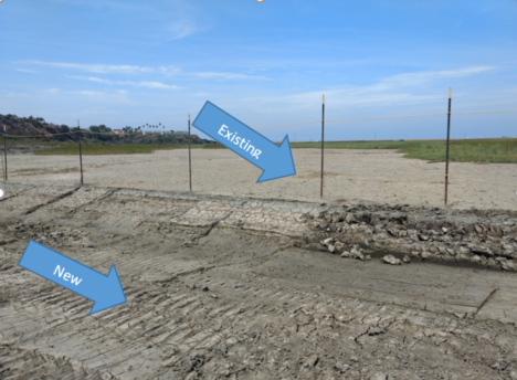 Existing_New Mudflat with arrow