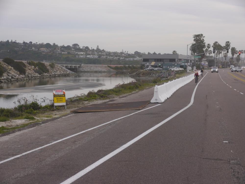 Bike Lane Remains Open